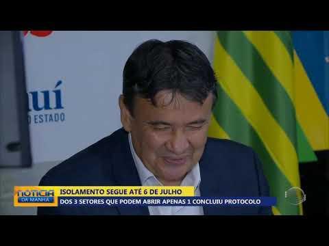 Dos 3 setores que podem abrir no Piauí apenas 1 tem protocolo aprovado