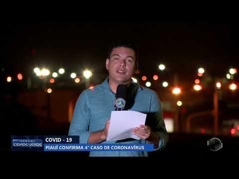 Piauí confirma 4° caso de coronavírus