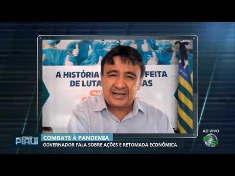 Wellington Dias prevê reabertura de setores em julho e pede reforço no isolamento