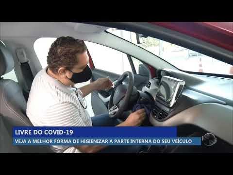 Veja a melhor forma de higienizar seu veículo por dentro contra o covid-19