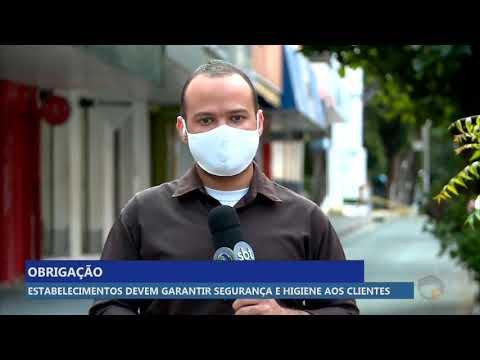Estabelecimentos devem garantir segurança e higiene aos clientes na pandemia