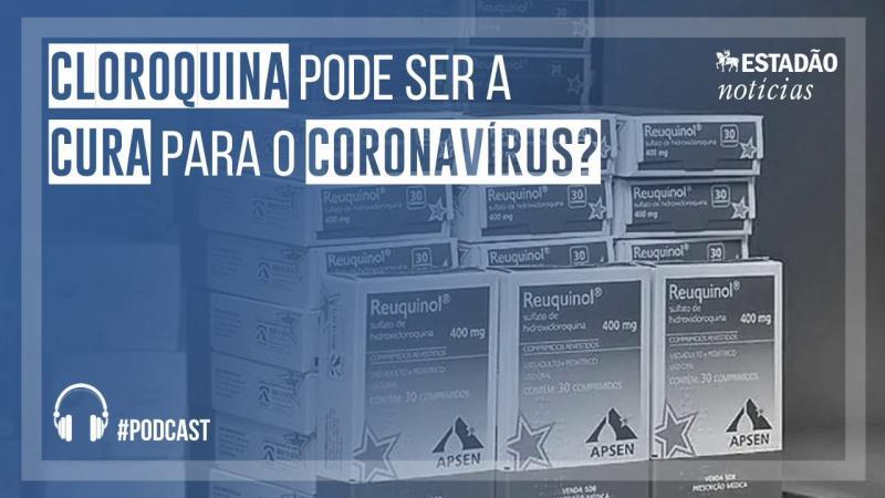 Cloroquina pode ser a cura para o coronavírus