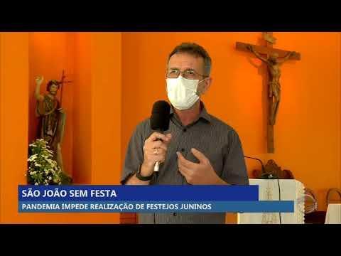 Pandemia impede realização de festejos juninos