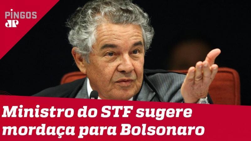 Marco Aurélio cobra PGR sobre notícia crime contra Bolsonaro