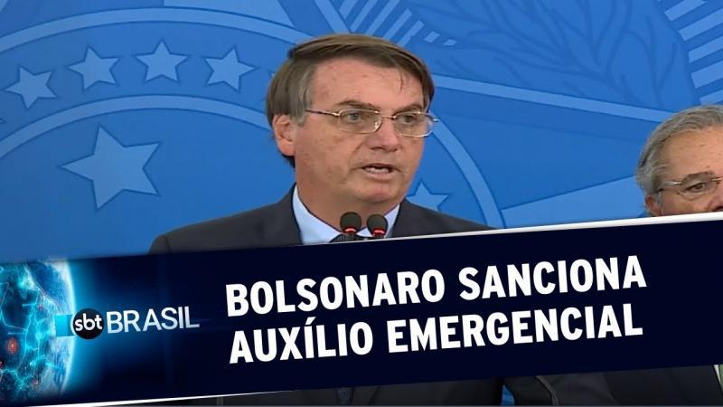 Jair Bolsonaro sanciona auxílio de R$ 600 para autônomos e informais