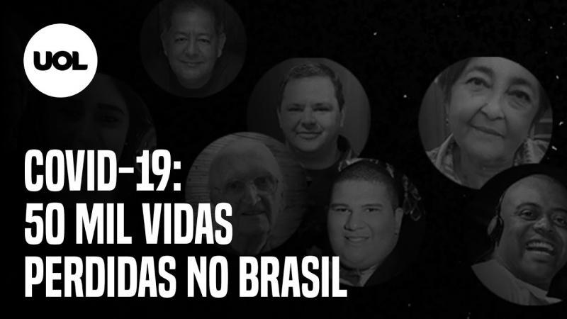 50 MIL MORTOS POR COVID-19 NO BRASIL: NÃO SÃO SÓ NÚMEROS